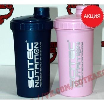 Шейкер: Scitec Nutrition Blue / Pink    700ml