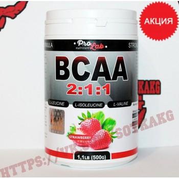 BCAA: ProLab BCAA 2:1:1    500 г