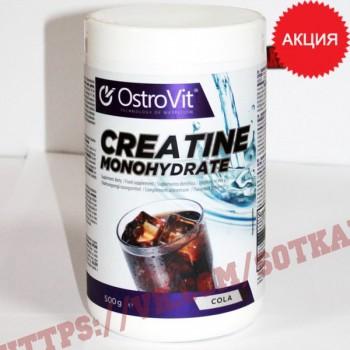 Креатин моногидрат: Ostrovit Creatine + Taurine || 500g+Wit B6