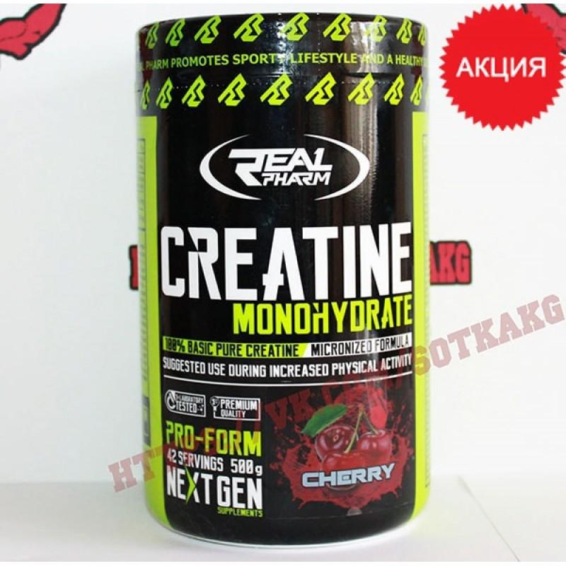 Креатин моногидрат: Real Pharm Creatine Mono    500г