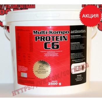 Комплексный протеин: Activevites Multi-Kompo C6 85% || 2.5кг