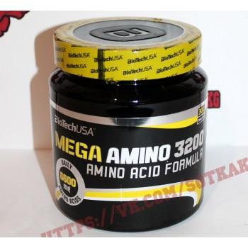 Аминокислоты: BioTech Mega Amino 3200 || 300таб