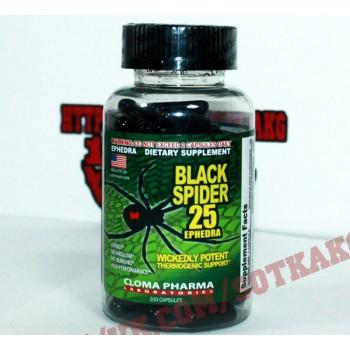 Жиросжигатель: Cloma Pharma Black Spider    (100 caps)