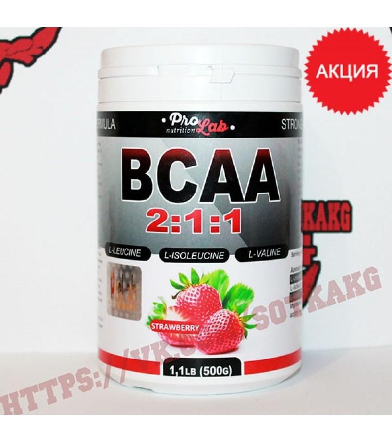 BCAA: ProLab BCAA 2:1:1 || 500 г